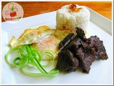 TAPSILOG (Tapa, Sinangag at Itlog) http://www.busogsarap.com/p/recipes.html