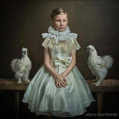Une sélection des incroyables portraits de la photographe Gemmy Woud-Binnendijk, qui compose ses images avec une rare précision et une attention très particu