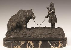 Lot: After Evgeni Lanceray (Russian, 1875-1946) Bronze Group, Lot Number: 0330, Starting Bid: $750, Auctioneer: Cottone Auctions, Auction: Fine Art, Antique and Modern Design Auction, Date: March 25th, 2017 CET