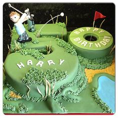 I made this birthday event cake for my buddy that is in addition a golf friend of my partner. This cake was a hit at the occasion as not simply men liked it Birthday Cakes For Men, 50th Birthday Party, Golf Themed Cakes, Golf Cakes, Golf Party Decorations, 50th Cake, Dad Cake, Sport Cakes, Gateaux Cake