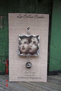 Lisa White- La Bella Beads Handmade soldered vintage soldered charm