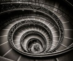 Vatican Museum Staircase (after Christmas) by Chris James Principles Of Design, Elements Of Design, Winding Staircase, Spiral Staircases, Relaxing Pictures, Stairs To Heaven, Advanced Photoshop, Architectural Features, Adventure Is Out There