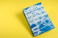 Position Monospace – Nichtproportionale Schriften gestern, heute, morgen