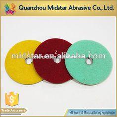 high quality 3 step diamond polishing pads