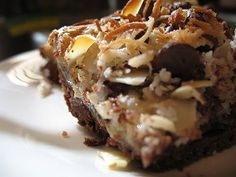 Banana Cookie Bars - The Crepes of Wrath