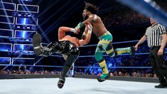 The Showoff looks to send a message to WWE Champion Kofi Kingston ahead of their Steel Cage Match at WWE Stomping Grounds by punishing fellow New Day member Xavier Woods. Zayn, Xavier Woods, Steel Cage, Dolph Ziggler, Wwe Champions, Wwe News, Wwe Photos, Wwe Superstars, New Day