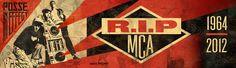 R.I.P MCA Billboard by Shepard Fairey - mashKULTURE