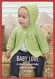 Free Baby Knitting Pattern Ba Knitting Patterns Free Knitting Pattern For Easy Florence Ba. Free Baby Knitting Pattern Easy Ba Knitting Patterns In Th. Crochet Baby Cardigan Free Pattern, Baby Sweater Patterns, Knitted Baby Cardigan, Knit Baby Sweaters, Baby Patterns, Cardigan Pattern, Baby Knits, Crochet Shrugs, Toddler Sweater
