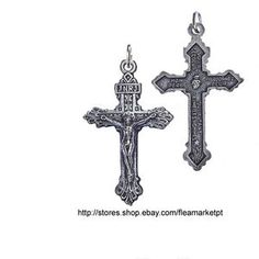 New Cross The Crucifixion Good Friday Black Pendant Necklace Ball Necklace, Pendant Necklace, Good Friday, Cross Pendant, Black Friday, Easter, Pendants, Chain, Silver