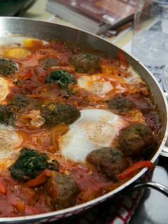 Lamb and Swiss Chard Shakshuka