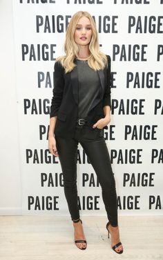 dailyrhw:    Rosie attends PAIGE SoHo Event on October 15 in New York City