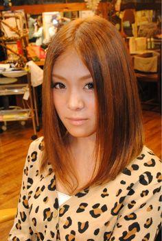前下がり ストレート | 松戸・新松戸の美容室 Laissez 新松戸駅前店のヘアスタイル | Rasysa(らしさ)