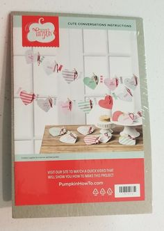 Stampin' Up! Paper Pumpkin Cute Conversations January 2016 Full Kit Banner #StampinUp