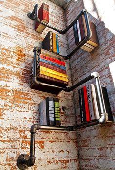 12 Ideas y diseños buenos, divertidos e inusuales para almacenar tus libros