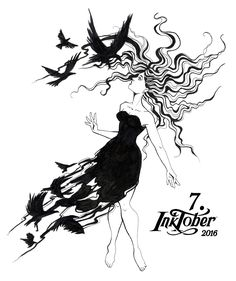7. Inktober 2016 – Face the Raven