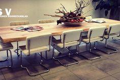 Stoere grote tafel