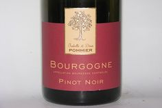 Denis Pommier Bourgogne Rouge 2010