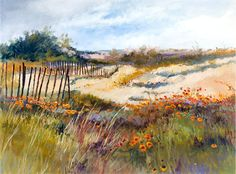 WILDFLOWERS ON THE BEACH