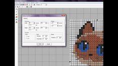 Wilcom. Cross Stitch-2. Обработка изображения в Paint