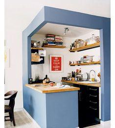 Дизайн маленькой кухни: 17 идей