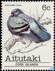 1981 Aitutaki - Birds
