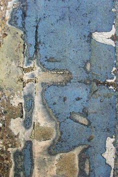 art journal background    Beautiful blue and a very wabi-sabi feel.