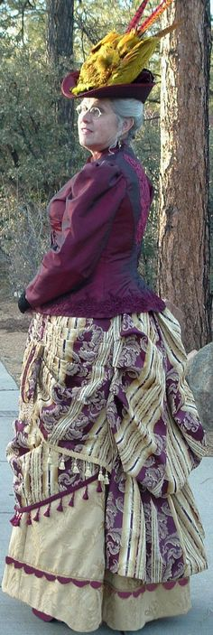 the Prescott Victorian Society | an 1800s outfit for a Victorian Costume Contest Part 1, Victorian ...