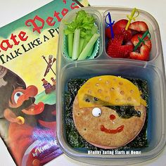 Healthy Eating Starts at Home: Ahoy, Matey! ~ Talk Like A Pirate Lunch Hop