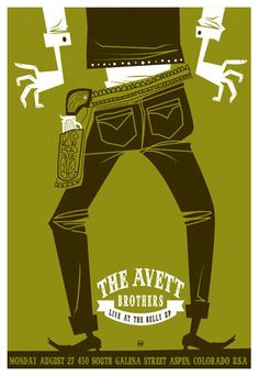 Avett Brothers (@Lynsey Schwab nice style, right? :))