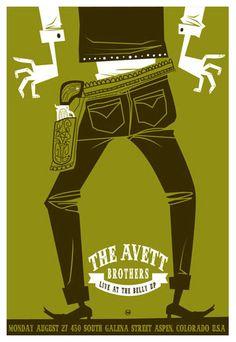 Avett Brothers (@Lynsey Schwab nice style, right? :))