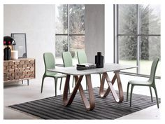 Leah Extension Table curated by Cliff Young Ltd #Tables #Dining #CliffyoungLtd