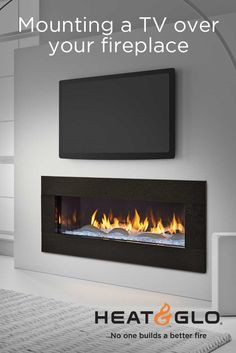 Fireplaces and televisions complement each other beautifully, providing entertainment, ambiance and warmth.