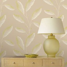 """Brewster Home Fashions Accents Aubrey Modern Trail 33' x 20.5"""" Leaf 3D Embossed Wallpaper & Reviews 