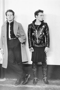 marco pirroni & adam ant, london, 1980