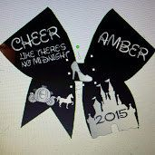 disneyland cheer bow by GoinTutuCrazy on Etsy