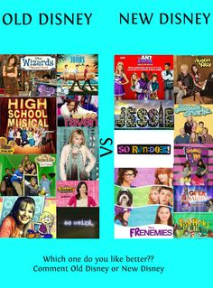 'Wizards of Waverly Place'. 'JONAS L. Oh yeah, some of my fave shows are on the 'Old Disney' list! I prefer old Disney but I liked good luck charlie Old Disney Channel Shows, New Disney Shows, Disney And Dreamworks, Disney Pixar, Disney List, Sonny With A Chance, Zack E Cody, Wizards Of Waverly Place, Austin And Ally