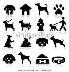 Dog Icons by Kapreski, via Shutterstock