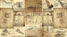 Leonardo Da Vinci Invention Sketches Poster Digital Art by Nenad Cerovic Miguel Angel, Da Vinci Inventions, Art Ninja, Steampunk, Elements Of Art, Wood Print, Illustrations Posters, Renaissance, Fine Art America