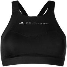 Adidas By Stella Mccartney Performance Essentials sports bra (806.880 IDR) ❤ liked on Polyvore featuring activewear, sports bras, black, adidas sportswear, crop sports bra, adidas, adidas activewear and adidas sports bra