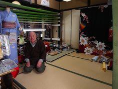 度々行きたい旅。: 京都駅から歩いて行く観光:花屋町通りで、印象的な友禅職人さんのお店を発見!(その2)