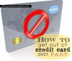 Pay your credit card debt fast with the debt snowball method.