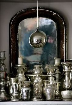 antique silver ~ nice grouping