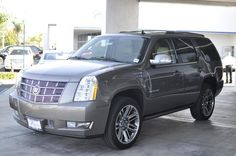 2014 Cadillac Escalade Premium AWD Premium 4dr SUV SUV 4 Doors Beige for sale in Temecula, CA Source: http://www.usedcarsgroup.com/used-cadillac-for-sale-in-temecula-ca