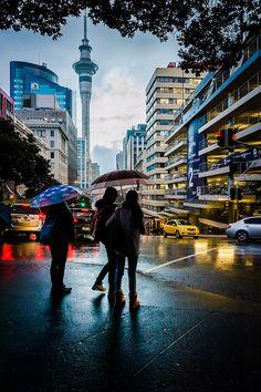 Its Raining Again Auckland New Zealand