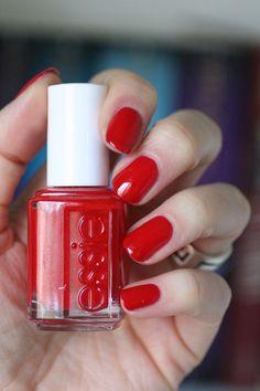 Essie Really Red || Essie Envy