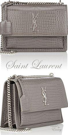 992e7ffc8a84 Brilliant Luxury ♢ Saint Laurent Monogram Sunset Medium Shoulder Bag Ysl  Sunset Bag