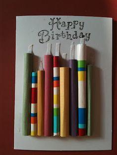 easy homemade birthday card
