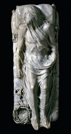 Cristo Velato ,Giuseppe Sanmartino. Cappella Sansevero, Napoli