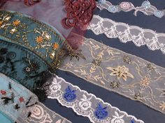 Fashion lace Latest fashion designs of lace, ideal for decoration and home textiles