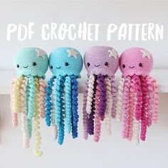 Cutest crochet octopus pattern by LilCrochetLove. :) PLEASE NOTE THAT THIS IS A DIGITAL ITEM (PDF) FILE AND NOT THE FINISHED ITEM!! This is PDF pattern for octopus written in US crochet terms. Pattern also includes 30 step by step pictures. The pattern requires basic crochet